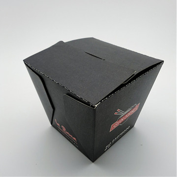 Full Color Printed Takeaway Mood Box