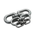304 Stainless Steel Rotating Ring Swivel 8 Word Ring Chain Link Buckle