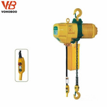 220V Small Electric Chain Hoist 1000kg made in China