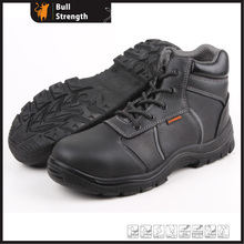 Genuine Leather Ankle Safety Shoe with Steel Toe (SN5259)