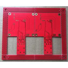 Factory source manufacturing for Quick Turn PCB 4 layer red solder ENIG PCB export to South Korea Supplier