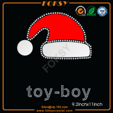 Christmas Hat Toy Boy rhinestone patterns
