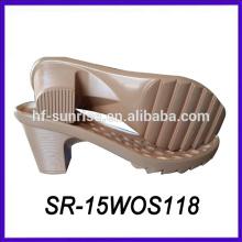 Pu projeto de salto alto único sapato único design sapato único fabricantes
