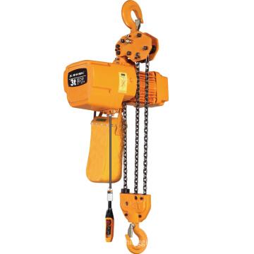2ton Best Price Single Girder Electric Chain Hoist For Overhead Crane