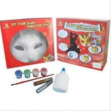 handgemachte Malerei Maske, machen Sie Ihre eigene Maske, Party Maske