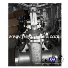 DIN Aço Inoxidável CF8 / 304 Válvula de Válvula de Haste Ascendente