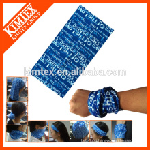 Fashion seamless wholesale multifunctional branded bandana