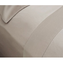 80% algodón 20% poliéster satinado brillante sábana ajustable (DPFB8054)
