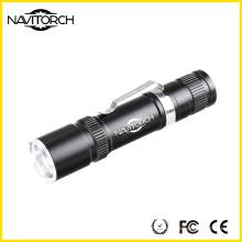 Recarregável Zoom 18650 bateria lanterna uso ao ar livre (NK-6620)