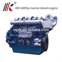 Motor diésel marino Yuchai de 400HP a 500hp con motor marino y caja de cambios