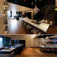 Дизайн деревянной столовой мебели