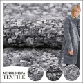 Hot sale Different kinds of fashionable Grey dress woven fabric price