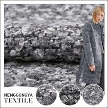 Vente chaude Différents types de robe gris à la mode tissu tissé prix