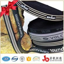 Impresión personalizada de cinta de jacquard para accesorios de prendas de vestir