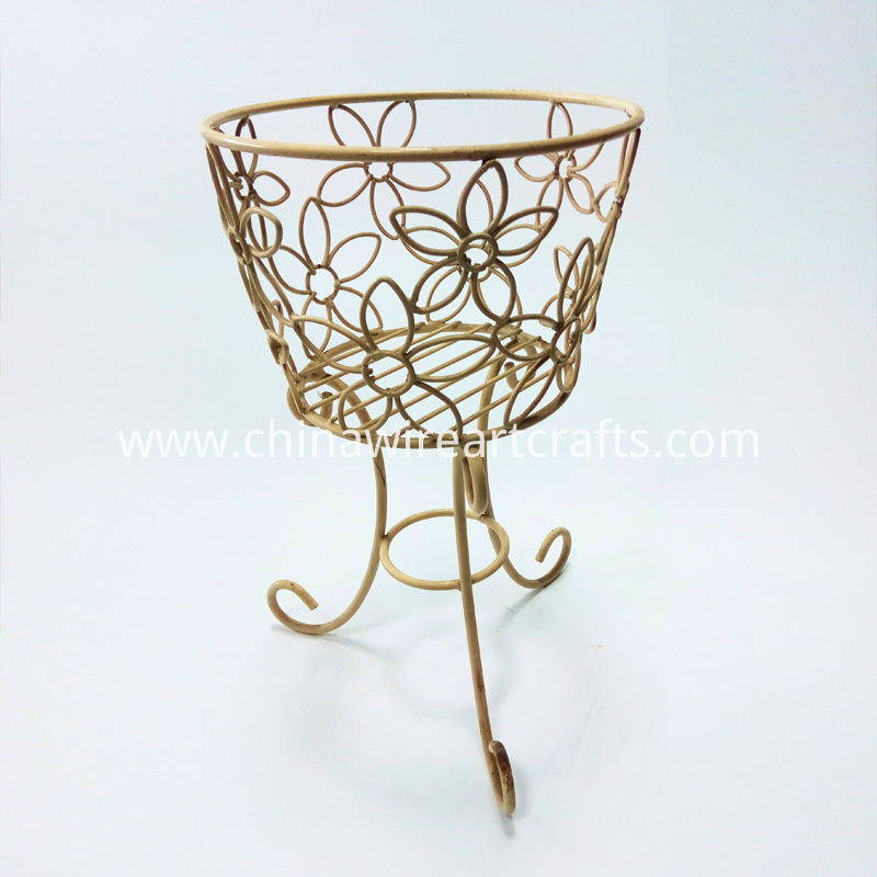 Iron Wire Metal Flower Stand