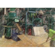 High Efficiency 90kw Biomass Sawdust Pellet Mill Machine Double Layer Die