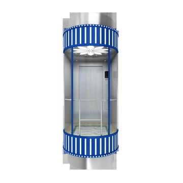 Machine Roomless Panorama Elevator