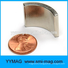 High temperature resistance segment NdFeB magnets for generator motor rotor
