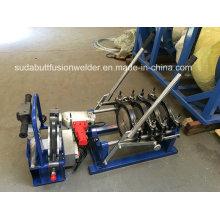 Máquina de soldadura manual da tubulação do HDPE do impulso da mão