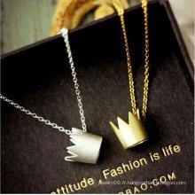Bijoux en acier inoxydable Collier bijoux