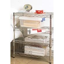 Decorative Metal Book Shelf, DIY Book Wire Shelving, Book Rack (HD143034A3C)