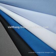 """65% polyester + 35% coton peigné TISSU TISSÉ / teint - couleur claire / uni / largeur: 57 """""""