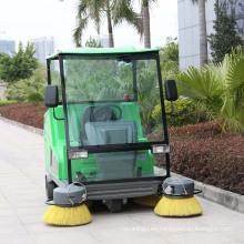 Vehículo de barrido Steet eléctrico con pilas caliente de la venta caliente con el cepillo grande (DQS18A)