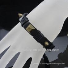 Pulsera caliente BGL-045 del cuero del estilo de la venta España