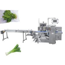 автоматическая машина для упаковки лука в пакеты со свежими овощами