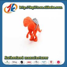 Brinquedo de dinossauro plástico de design engraçado para crianças