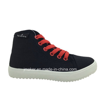 China Wholesale Crianças Sapatos de lona de alta Top (C432-B)