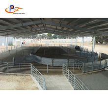 Metal Welded Oval Rails Wire Mesh Cattle Yard Panel (Manufacturer)