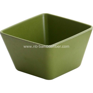 Bamboo Fiber Square Salad Fruit And Vegetable Bowls