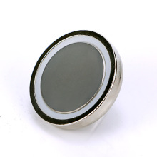 Strong Pot Magnet With Threaded Stem D32mm Thread M6