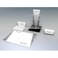 Présentoir acrylique de rotation lunettes pour PC