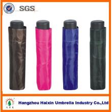 Paraguas del mercado promocional 3 plegable grande