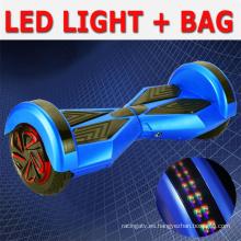 Venta caliente 2 o Scooter eléctrico de equilibrio del uno mismo de dos ruedas con Bluetooth
