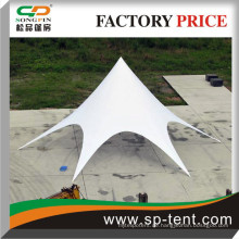 Wasserdichte und UV-geprüfte PVC-Outdoor-Cafes-Zelte Sechskant-Stil sitzt 60 Stühle