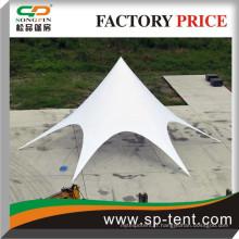 Tentes en terre cuite à l'eau imperméable et protégé contre les rayons ultraviolets Style hexagonal assis 60 chaises