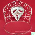 Corona cristalina de la máscara de las gemas de la corona del partido