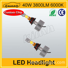 Hot sale 40w 3800LM small headlights for motorcycle