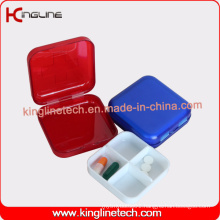 Plastic Square Wholesale Pill Box (KL-9062)