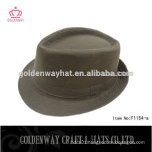 Cheap Blank Brown Fedora Hat for Men