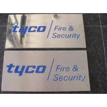 Affichage fait sur commande de panneau d'affichage d'acier inoxydable d'intérieur (ID-16)