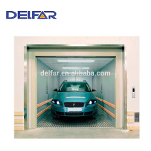 Car elevator for construction use and building with economic price
