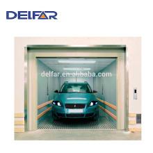 Delfar grande carregamento elevador de carro com sala de máquinas para uso público
