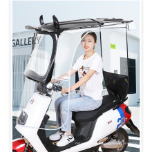 Electric Battery Car Awning Sunscreen Awning Rain Awning Motor 7 Word Peng New Wide Shed Awning