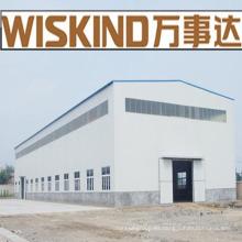 Hangar de estructura de acero de largo alcance
