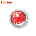 High Quality adjustable Small Cable Lockout Loto Locks