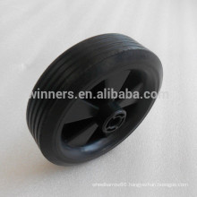 4.5 inch small plastic wheel/cart wheel/solid rubber wheel